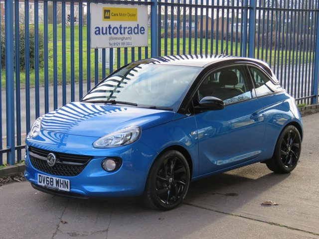 USED 2018 68 VAUXHALL ADAM 1.2 ENERGISED 3d 69 BHP 1 Owner with Service History