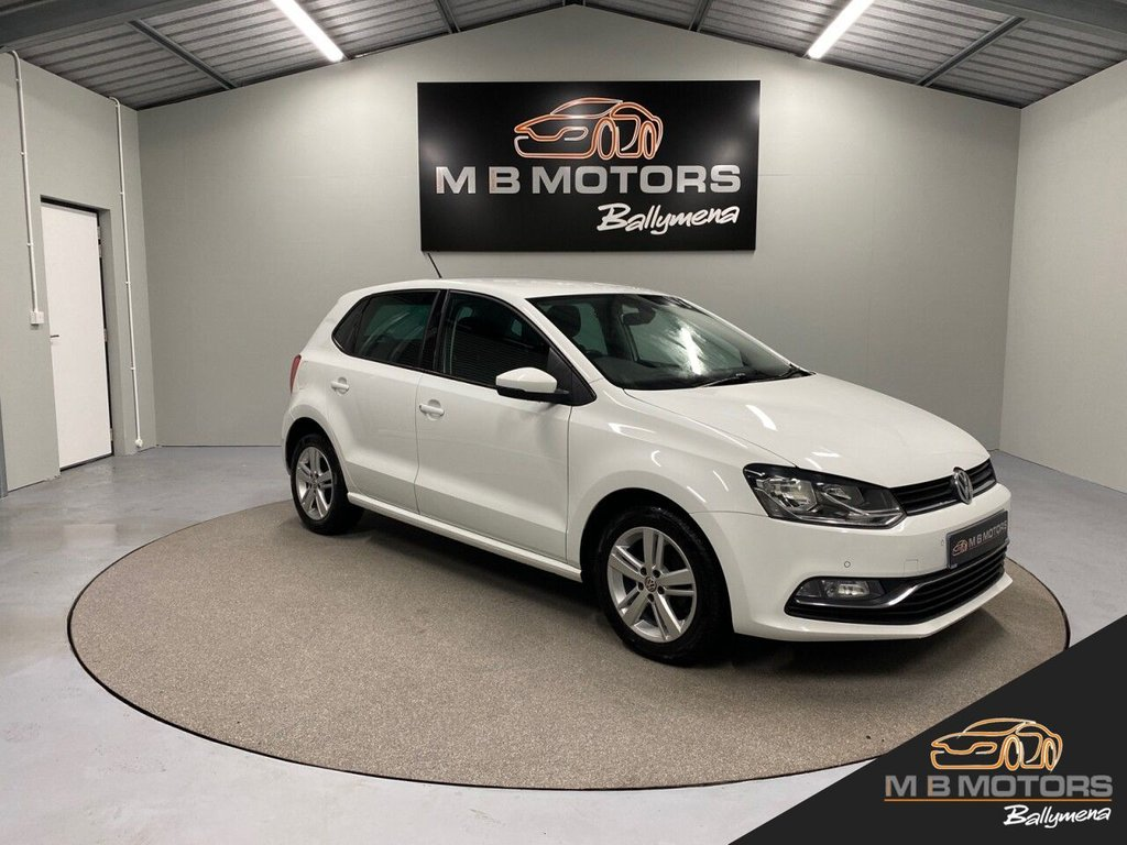 USED 2017 VOLKSWAGEN POLO MATCH EDITION 1.4TDI 5d 74 BHP