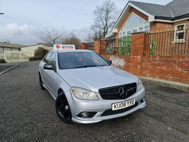 USED 2008 08 MERCEDES-BENZ C-CLASS 1.8 C180 KOMPRESSOR SPORT 4d 155 BHP A FABULOUS GERMAN MACHINERY