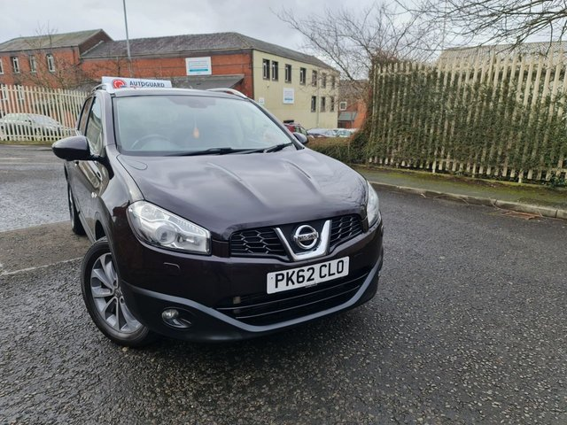 USED 2012 62 NISSAN QASHQAI 2.0 DCI TEKNA 5d 148 BHP AUTO 4WD A GREAT 4WD AUTOMATIC