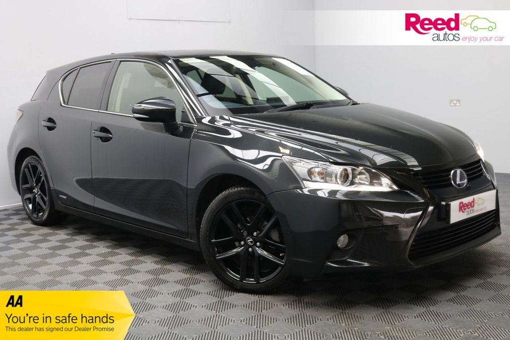 USED 2016 16 LEXUS CT 1.8 200H SPORT 5d 134 BHP 1 OWNER+NAV+SUNROOF+PRIV GLASS+PSENSORS+CRUISECON+HEAT MIRRORS+AUX