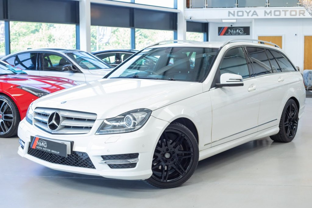 USED 2013 13 MERCEDES-BENZ C-CLASS 2.1 C220 CDI BLUEEFFICIENCY AMG SPORT PLUS 5d 168 BHP ***12 MONTH MOT INCLUDED***