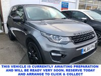 USED 2016 66 LAND ROVER DISCOVERY SPORT 2.0 TD4 HSE BLACK 5d 7 Seat Family SUV AUTO Panoramic Glass Roof Heated Leather Seats Sat Nav Best Value Disco Sport in the UK.   Masses of Specification!