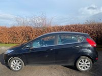 USED 2009 09 FORD FIESTA 1.2 ZETEC 5d 81 BHP * 2 OWNERS FROM NEW * LOW MILEAGE CAR * 12 MOMTHS FREE AA MEMBERSHIP *
