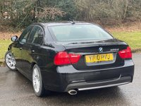USED 2010 10 BMW 3 SERIES 2.0 320D M SPORT 4d 181 BHP * FULL BLACK LEATHER  * 12 MONTHS FREE AA BREAKDOWN COVER *
