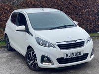 USED 2018 18 PEUGEOT 108 1.2 PURETECH ALLURE 5d 82 BHP * IDEAL FIRST CAR * ECONOMICAL * LOW INSURANCE GROUP *