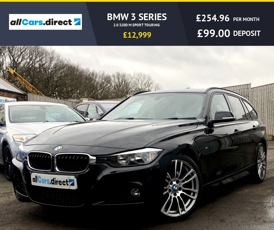 USED 2015 15 BMW 3 SERIES 2.0 320D M SPORT TOURING