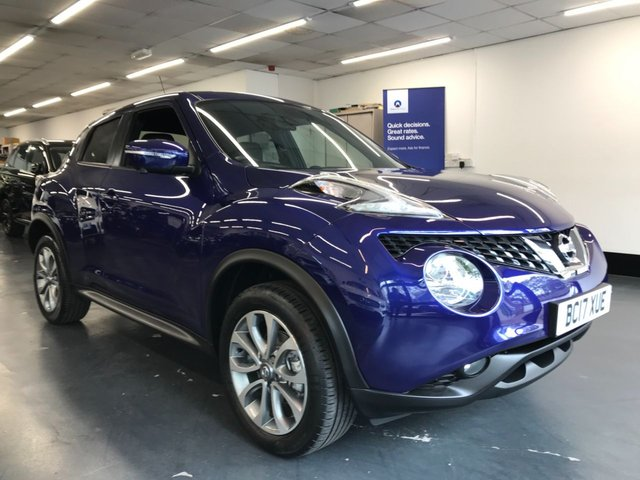 USED 2017 17 NISSAN JUKE 1.6 TEKNA XTRONIC 5d 117 BHP 1 owner from new, huge spec including full leather heated seats, touchscreen satnav and 360 camera!