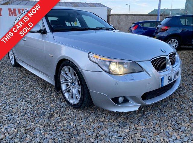 2006 56 BMW 5 SERIES 3.0 530D M SPORT 4d 228 BHP