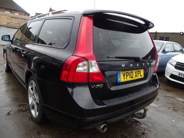 USED 2010 10 VOLVO V70 2.0 D R-DESIGN SE 5d 136 BHP DRIVES A1
