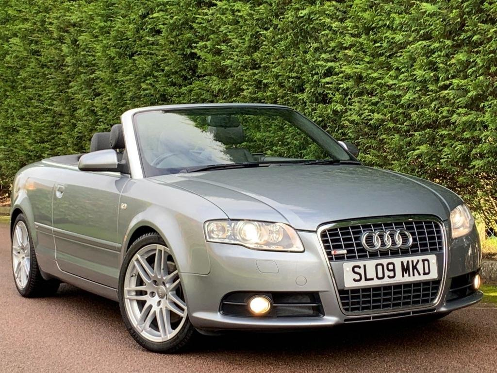 USED 2009 09 AUDI A4 2.0 TFSI S line Special Edition Cabriolet 2dr CLICK & COLLECT/HOME DELIVERY