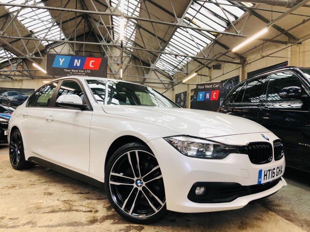USED 2016 16 BMW 3 SERIES 2.0 320d BluePerformance ED Plus Auto (s/s) 4dr M SPORT 19S HTD STS BLK PACK!