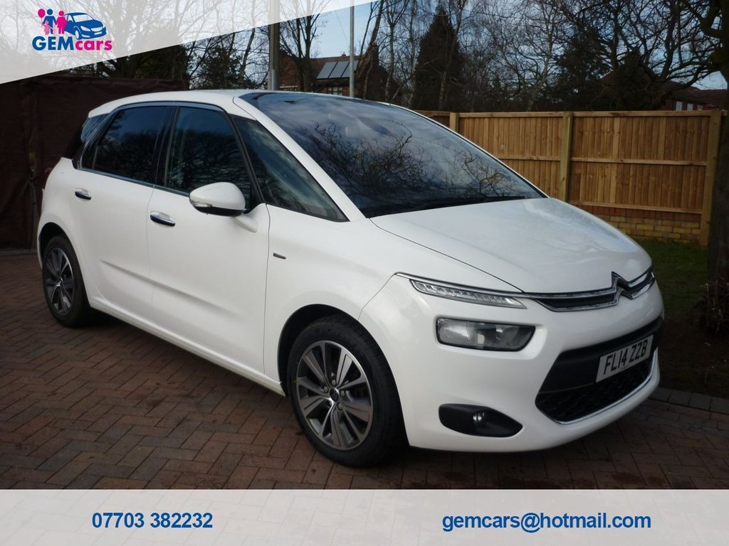 USED 2014 14 CITROEN C4 PICASSO 1.6 E-HDI AIRDREAM EXCLUSIVE ETG6 5d 113 BHP GO TO OUR WEBSITE TO WATCH A FULL WALKROUND VIDEO