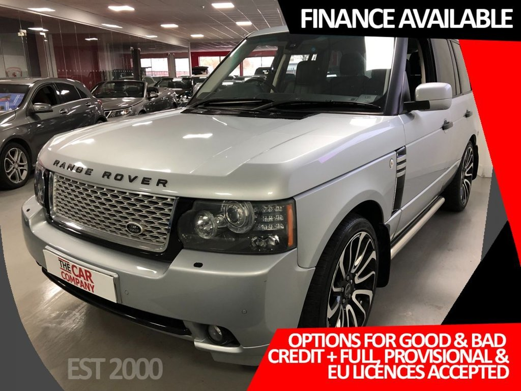 USED 2010 10 LAND ROVER RANGE ROVER 3.6 TDV8 VOGUE 5d 271 BHP * CRUISE   * BLUETOOTH * NAV * DEC MOT * PRIVACY GLASS *
