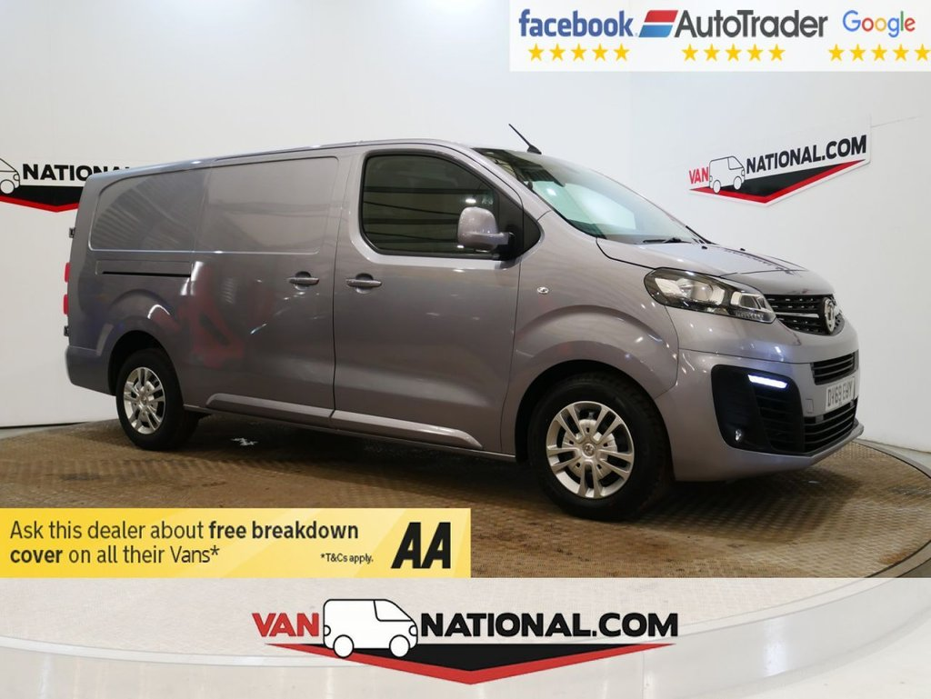USED 2019 69 VAUXHALL VIVARO 2.0 L2 H1 3100 SPORTIVE S/S 120 BHP 1.5D *AIR CON*EURO 6* * EURO 6 * AIR CON * LWB * NEW SHAPE * ZERO DEPOSIT FINANCE AVAILABLE *