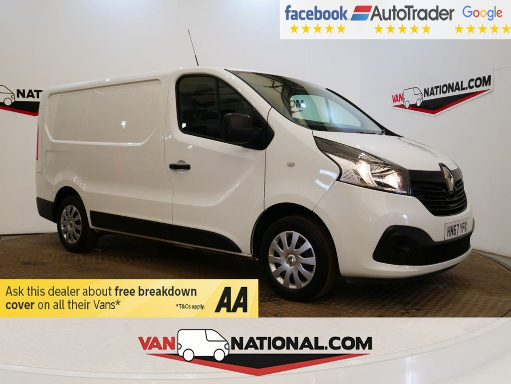 USED 2017 67 RENAULT TRAFIC 1.6 SL27 BUSINESS PLUS ENERGY DCI 125 BHP *AIR CON*EURO 6* * ONE OWNER * EURO 6 * AIR CON * ZERO DEPOSIT FINANCE AVAILABLE *