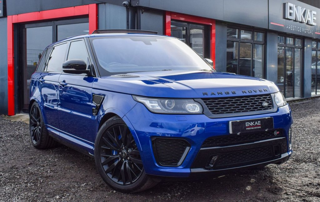 USED 2015 12 LAND ROVER RANGE ROVER SPORT 5.0 V8 AUTOBIOGRAPHY DYNAMIC 5d 503 BHP