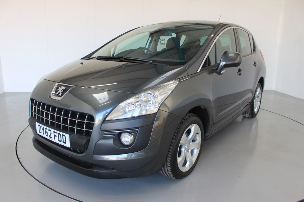 USED 2012 62 PEUGEOT 3008 1.6 ACTIVE HDI FAP 5d-2 OWNER CAR-ALLOY WHEELS-REAR PARKING SENSORS-CRUISE CONTROL