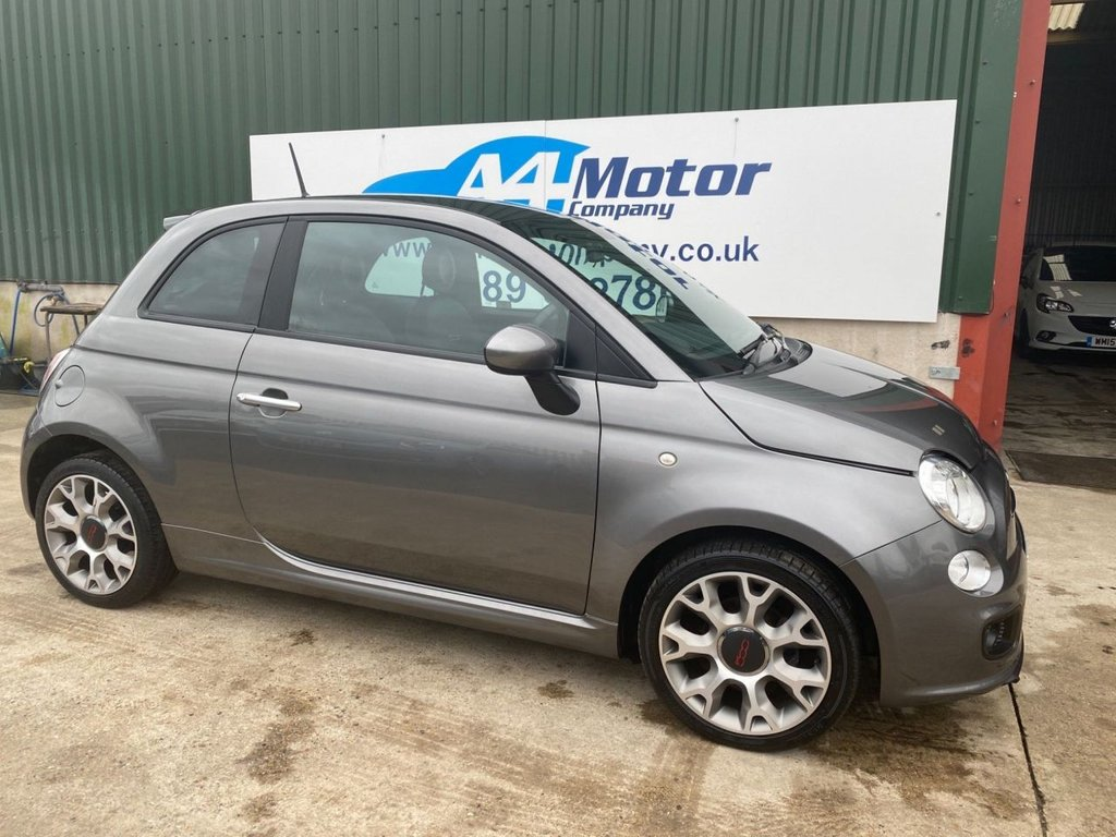 USED 2014 14 FIAT 500 1.2 S (s/s) 3dr LOW TAX AND INSURANCE GROUP