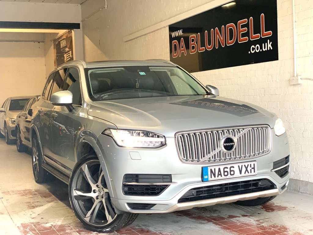 """USED 2016 W VOLVO XC90 2.0 T8 TWIN ENGINE INSCRIPTION 5d 316 BHP PAN ROOF+22"""" ALLOYS+HUGE SPEC"""