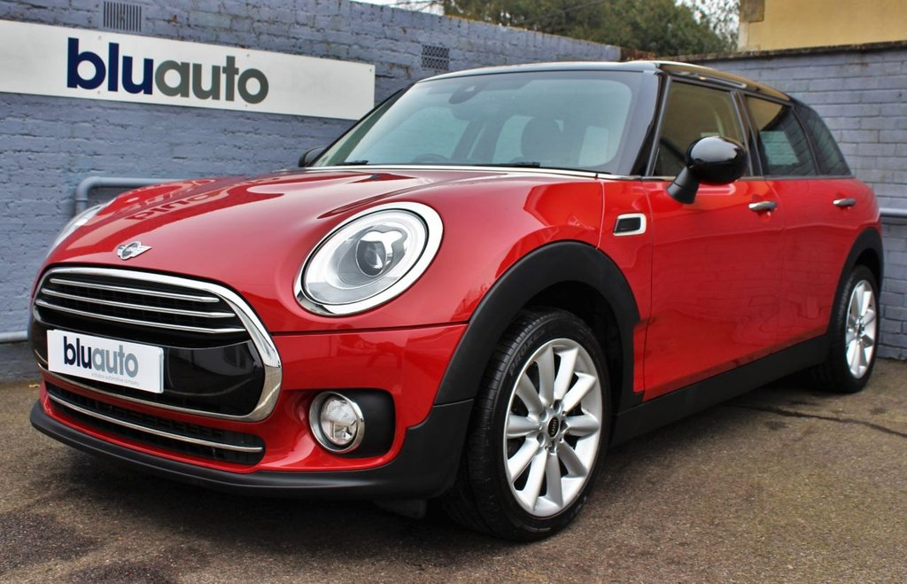 USED 2016 66 MINI CLUBMAN 1.5 COOPER 5d 134 BHP 2 Owners, Heads Up Display, Rear Sensors, Part Leather Heated Seats, Satellite Navigation, Bluetooth Connectivity