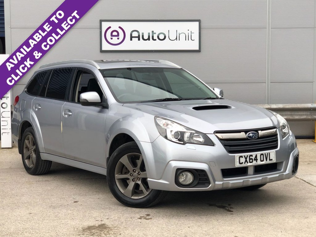 USED 2014 64 SUBARU OUTBACK 2.0 D SX 5d 148 BHP FULL SERVICE HISTORY + REAR CAMERA + HEATED SEATS + BLUETOOTH