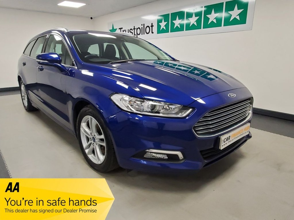 USED 2017 67 FORD MONDEO 2.0 ZETEC EDITION TDCI 5d 148 BHP