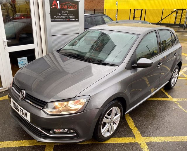 2016 16 VOLKSWAGEN POLO 1.0 MATCH 5d 74 BHP/ ROAD TAX £20,-