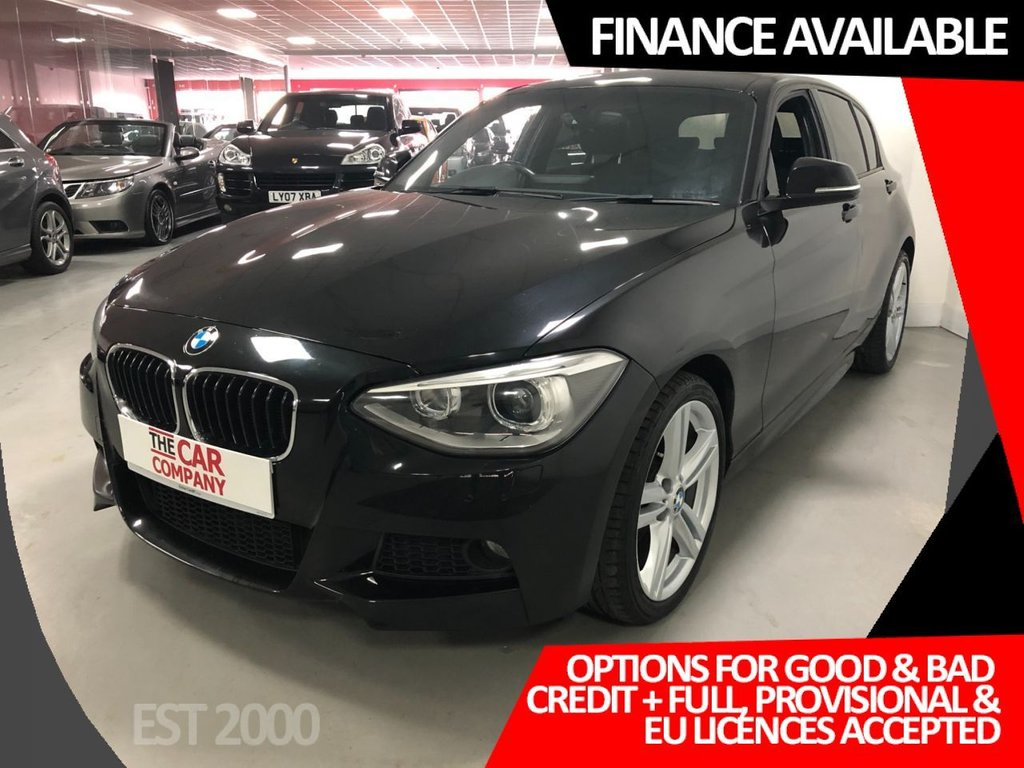 USED 2013 13 BMW 1 SERIES 2.0 120D XDRIVE M SPORT 5d 181 BHP * PRIVACY GLASS * 18 INCH ALLOYS * 2 KEYS * MOT FEB 22 * CLIMATE CONTROL * 7 SERVICES *