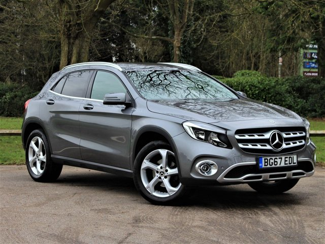 USED 2018 67 MERCEDES-BENZ GLA-CLASS 1.6 GLA 200 SPORT EXECUTIVE 5d 154 BHP £215 PCM With £1795 Deposit