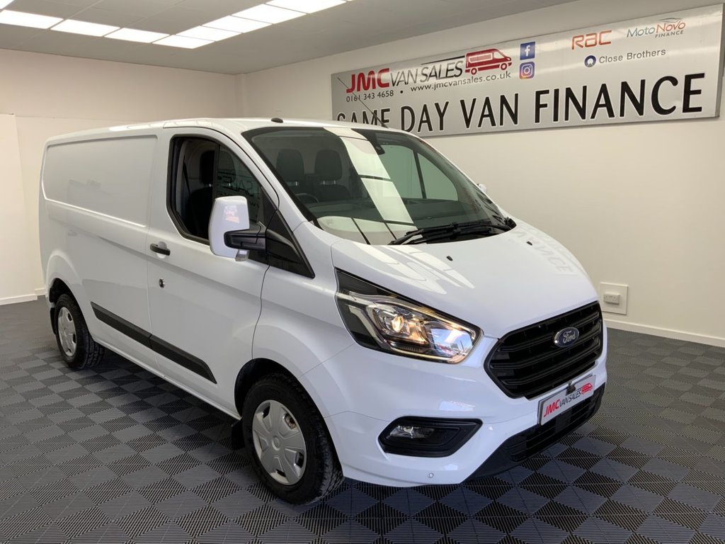 USED 2019 19 FORD TRANSIT CUSTOM 2.0 280 TREND P/V L1 H1 104 BHP LOW MILES 1 OWNER STILL UNDER FORD WARRANTY CHOICE IN STOCK