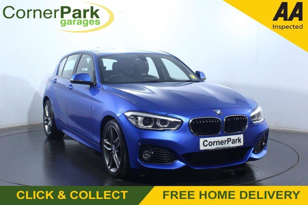 USED 2018 67 BMW 1 SERIES 2.0 118D M SPORT 5d 147 BHP