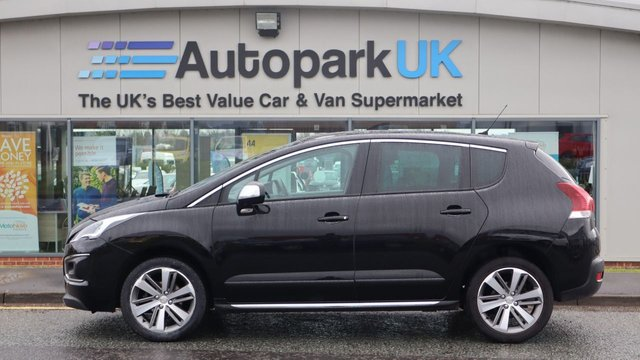 USED 2016 16 PEUGEOT 3008 1.6 BLUE HDI S/S ALLURE 5d 120 BHP . LOW DEPOSIT OR NO DEPOSIT FINANCE AVAILABLE . COMES USABILITY INSPECTED WITH 30 DAYS USABILITY WARRANTY + LOW COST 12 MONTHS ESSENTIALS WARRANTY AVAILABLE FROM ONLY £199 (VANS AND 4X4 £299) DETAILS ON REQUEST. ALWAYS DRIVING DOWN PRICES . BUY WITH CONFIDENCE . OVER 1000 GENUINE GREAT REVIEWS OVER ALL PLATFORMS FROM GOOD HONEST CUSTOMERS YOU CAN TRUST .