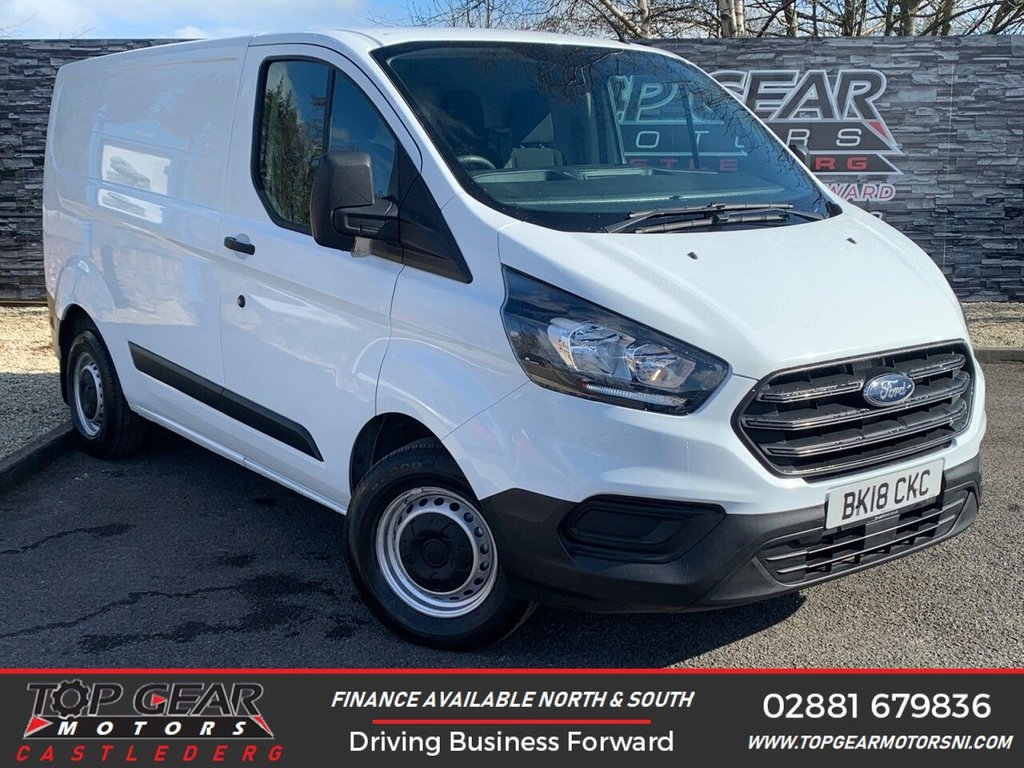 USED 2018 18 FORD TRANSIT CUSTOM 300 2.0 130BHP BASE L1 H1 ** A/C ** FULLY KITTED TO YOUR SPECIFICATION **
