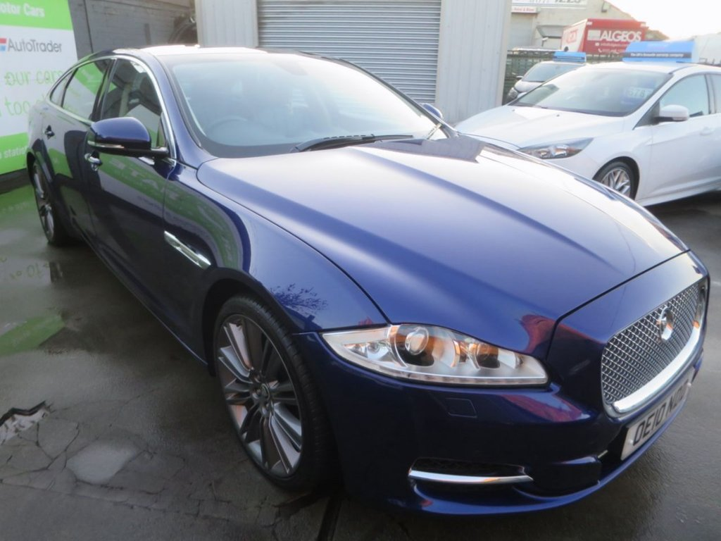 USED 2010 10 JAGUAR XJ 3.0 D V6 PORTFOLIO LWB 4d 275 BHP * UK DELIVERY AND FINANCE AVAILABLE! *