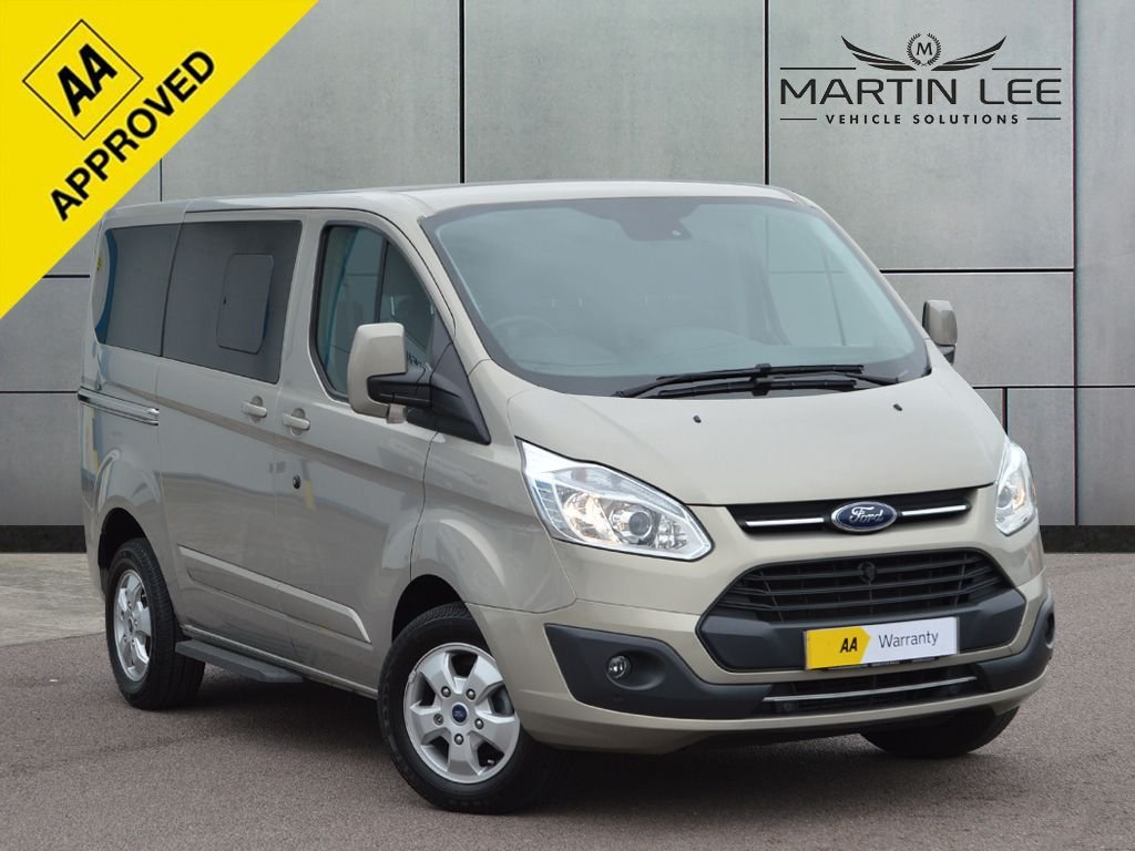 USED 2018 18 FORD TOURNEO CUSTOM 2.0 310 TITANIUM TDCI 5d 129 BHP SPECIAL OFFER WHEELCHAIR ACCESS VEHICLE WAV