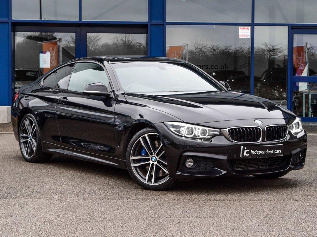 USED 2017 17 BMW 4 SERIES 430D M SPORT 2d 255 BHP