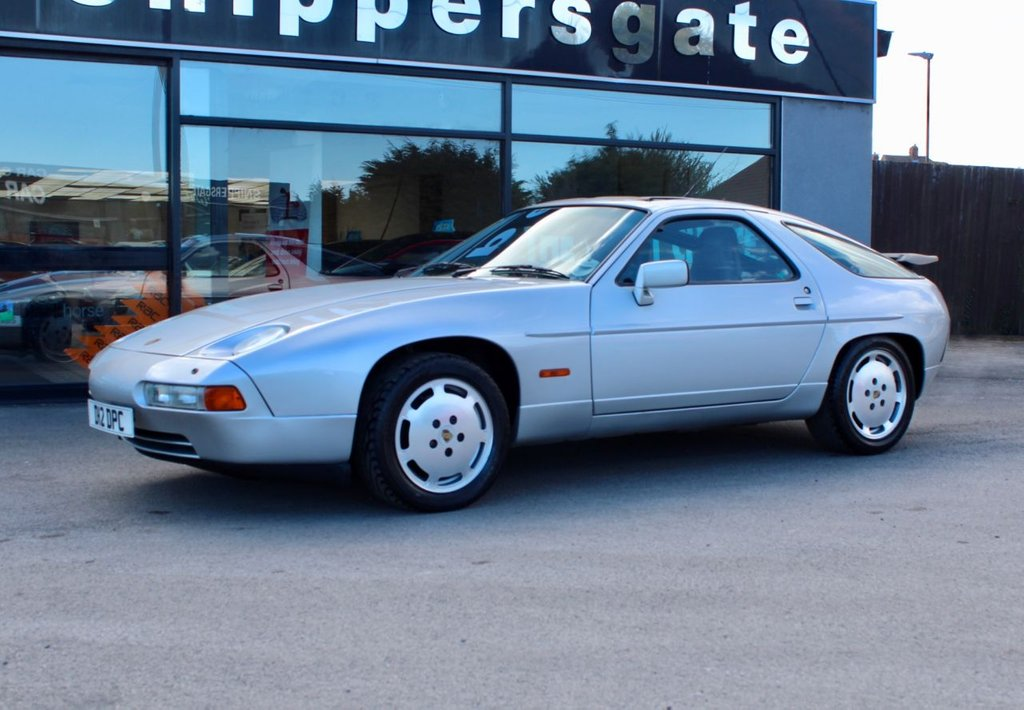 USED 1989 D PORSCHE 928 5.0 S SRS 4 2d 320 BHP Silver Metallic, Burgundy Leather, Extensive service history with receipts including a recent service by Tom Ferguson Porsche Specialist, Electric Sun Roof, Electric Adjustable Seats, Electric Windows, Rear Spoiler, Book Pack, Fantastic example of a rare and appreciating classic.