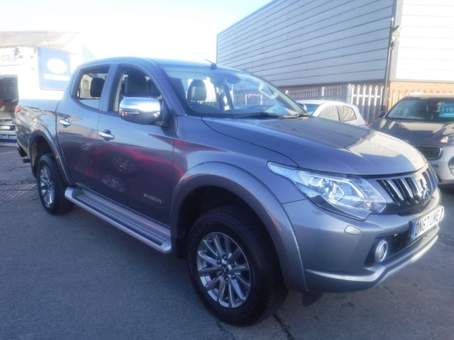 USED 2018 67 MITSUBISHI L200 2.4 DI-D 4WD WARRIOR DCB 178 BHP *** FINANCE & PART EXCHANGE WELCOME *** 1 OWNER FROM NEW 4X4 DIESEL AUTOMATIC FULL BLACK LEATHER HEATED SEATS BLUETOOTH PHONE REVERSE CAMERA SIDE STEPS  AIR/CON CRUISE CONTROL