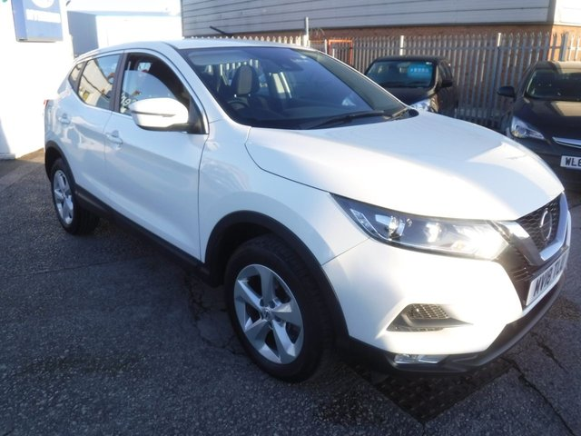 USED 2018 18 NISSAN QASHQAI 1.2 ACENTA DIG-T 5d 113 BHP *** FINANCE & PART EXCHANGE WELCOME *** BLUETOOTH PHONE PARKING SENSORS AIR/CON CRUISE CONTROL DAB RADIO AUX & USB