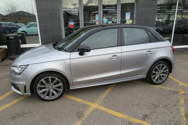 USED 2014 64 AUDI A1 1.6 SPORTBACK TDI S LINE STYLE EDITION 5d 103 BHP