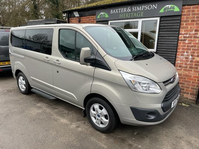 View our FORD TRANSIT CUSTOM 270 LR DCB