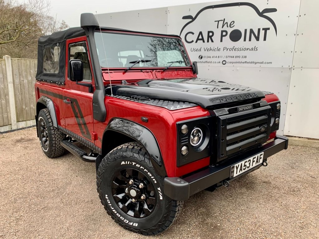 USED 2003 53 LAND ROVER DEFENDER 2.5 90 SOFT-TOP TD5 5d 120 BHP