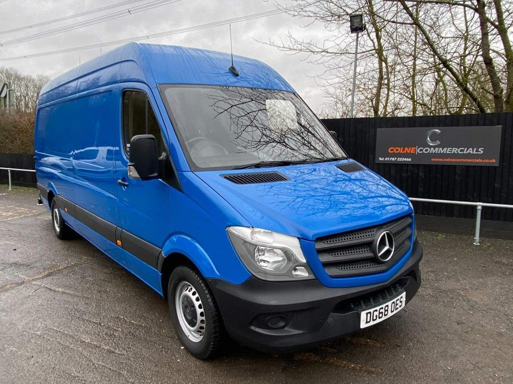 USED 2018 68 MERCEDES-BENZ SPRINTER 2.1 CDI 314 High Roof Panel Van 5dr (EU6, LWB) **EURO 6**REVERSE CAMERA**