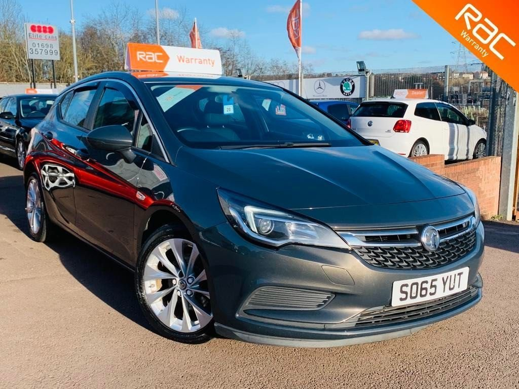 USED 2016 65 VAUXHALL ASTRA 1.6 CDTi ecoTEC BlueInjection Energy 5dr 1 years Nationwide warranty