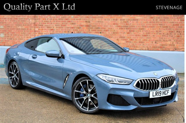 USED 2019 19 BMW 8 SERIES 3.0 840d Steptronic xDrive (s/s) 2dr SATNAV,CAMERA,HEADS-UP,AMBIENT