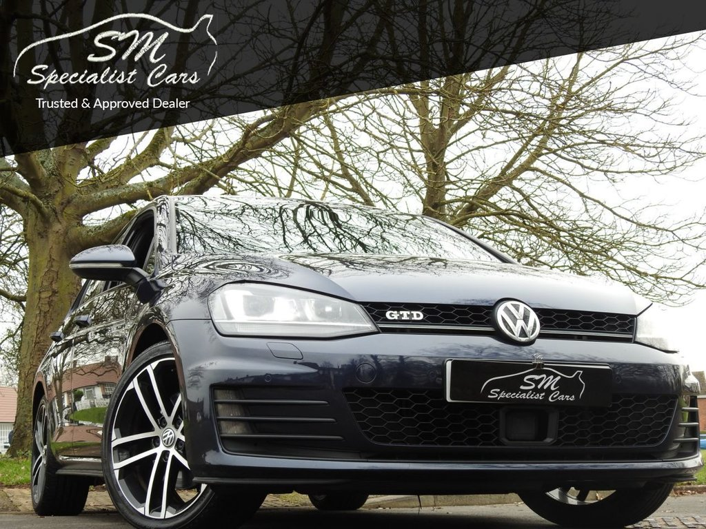 USED 2016 66 VOLKSWAGEN GOLF 2.0 GTD 5d 181 BHP 1 OWNER FROM NEW 69K FSH A/C
