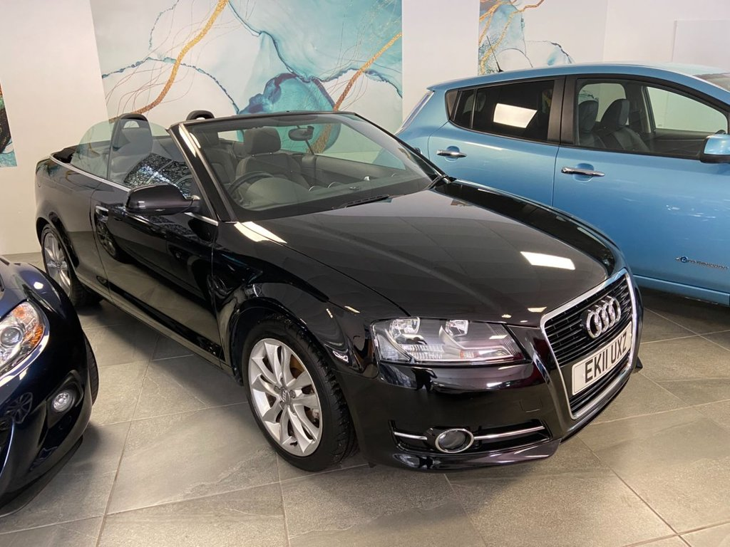 USED 2011 11 AUDI A3 1.2 TFSI SPORT 2d 105 BHP CONVERTIBLE