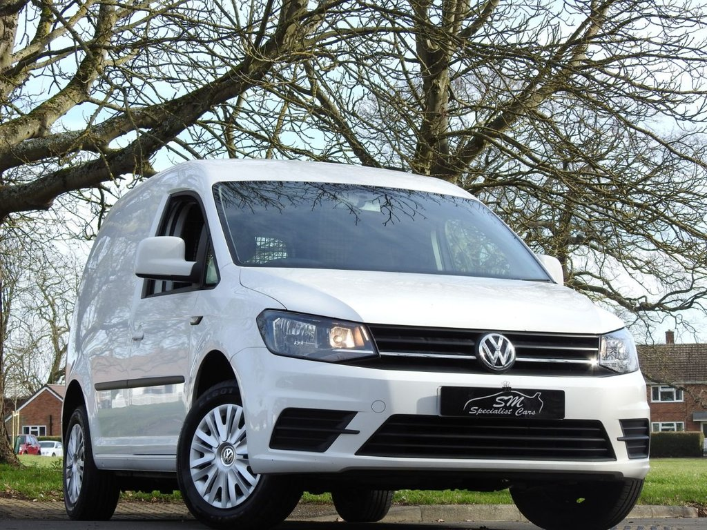 USED 2016 66 VOLKSWAGEN CADDY 1.6 C20 TDI TRENDLINE 101 BHP ONLY 58K FROM NEW PLUS VAT