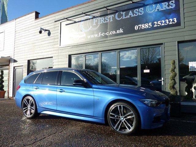 2018 18 BMW 3 SERIES 3.0 335D XDRIVE M SPORT SHADOW EDITION TOURING 5d 308 BHP